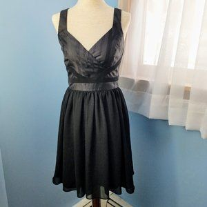 Armani Exchange Black Sleeveless Dress